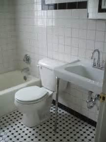 Black And White Bathroom » Home Design 2017