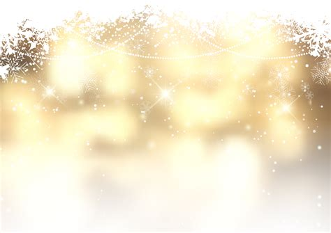 gold christmas background  snowflakes   vectors clipart graphics vector art