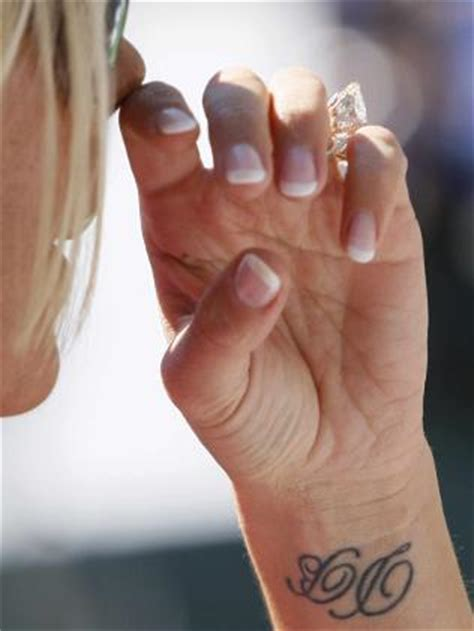victoria beckham wrist tattoo the tattoos of