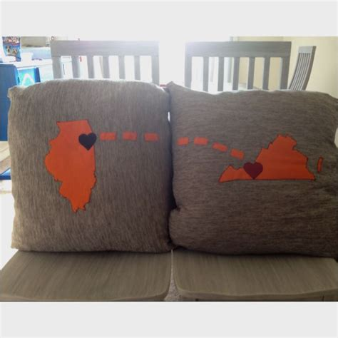 Distance Relationship Pillows by Distance Relationship Pillows Someday Home