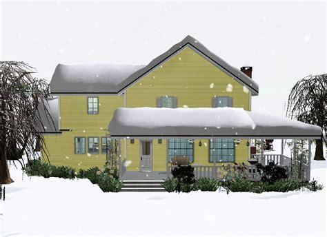 House Gif snow animated gif