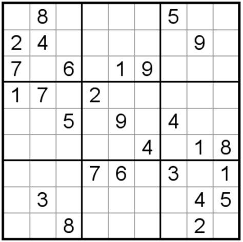 printable intermediate sudoku puzzles sudoku puzzles intermediate 49 52 number squares
