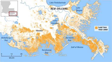 louisiana map erosion louisiana to big what did you do to our coastline