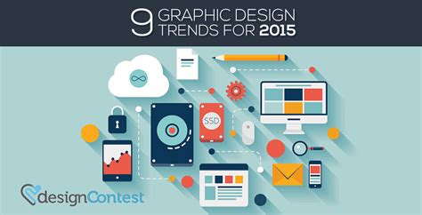 graphic design layout trends 2015 9 graphic design trends for 2015 designcontest