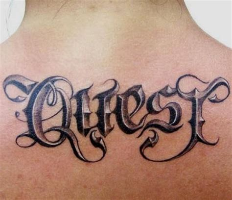 tattoo 3d lettering script tattoo tattoo ideal quot fonts script quot 3d tattoos