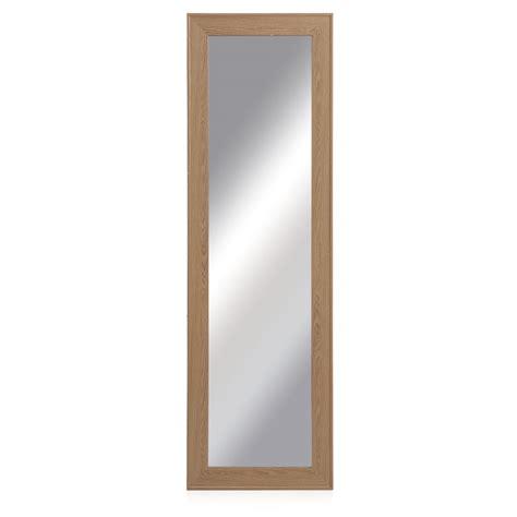 Mirror This by Wilko Oak Effect Mirror 41 X 133cm At Wilko