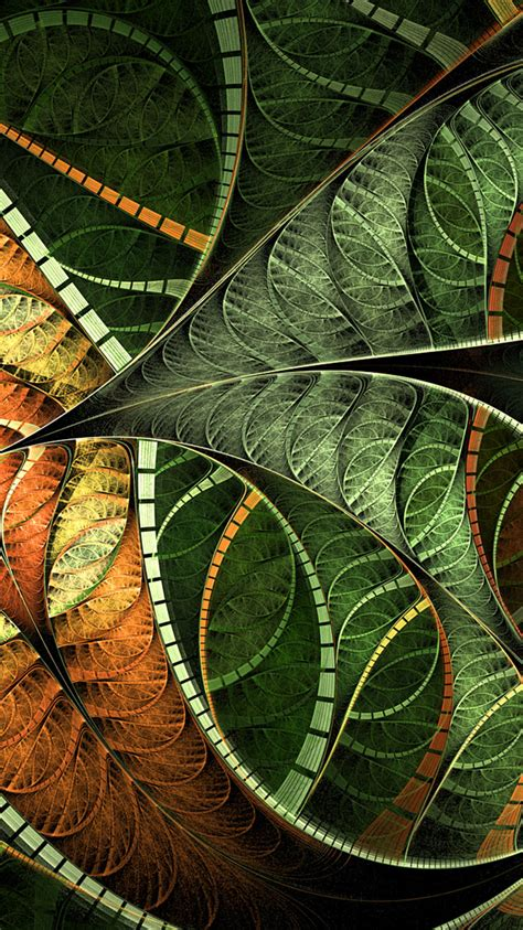 wallpaper freebies 50 fractal art iphone wallpapers