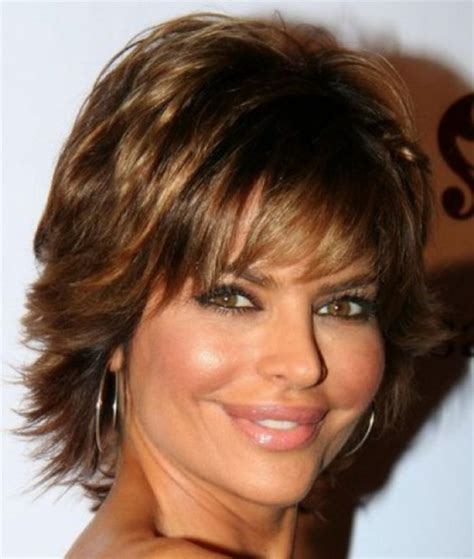 medium shaggy hairstyle for women over 40 2015 short hairstyles for women over 40