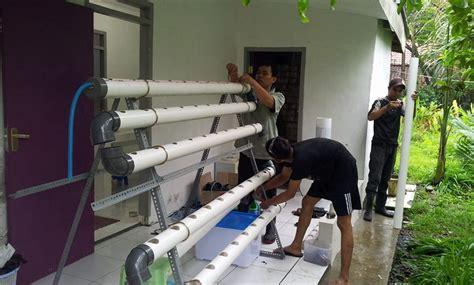 biaya membuat rumah hidroponik hidup sehat bersama hidroponik yeni herdiyeni