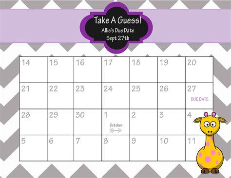 baby pool calendar template baby pool template printable printable calendar template