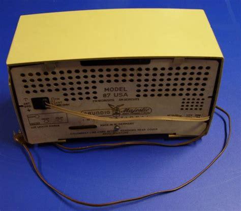 More Retro Radio Goodness From Eton by Grundig Majestic Model 87 Radio 1959 87