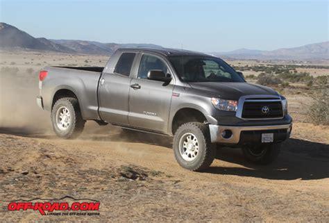 Toyota Tundra All Terrain Tires Trail Ready Tundra Upgrades From Fox Total Chaos