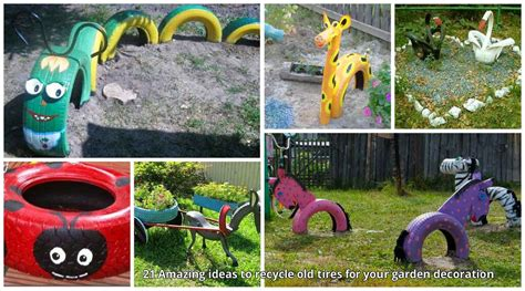 garden decoration things 21 amazing ideas to recycle tires for your garden