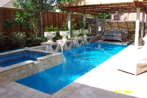 Swimming Pools Small Backyards Backyard Pool Layouts Best Layout Room