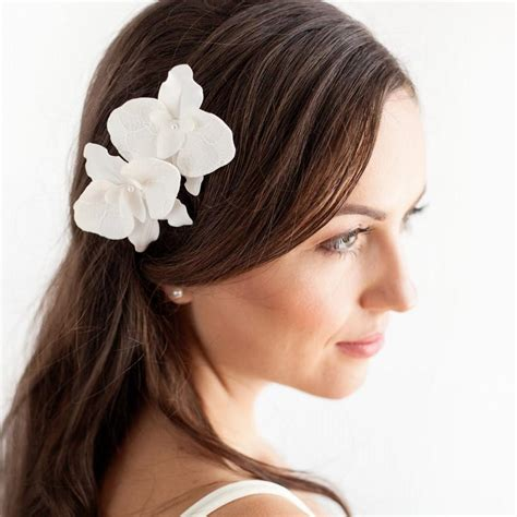 Wedding Hair Accessories Orchid by Orchid Hair Pins Set Of 2 Bridal Hair Flowers Orchid