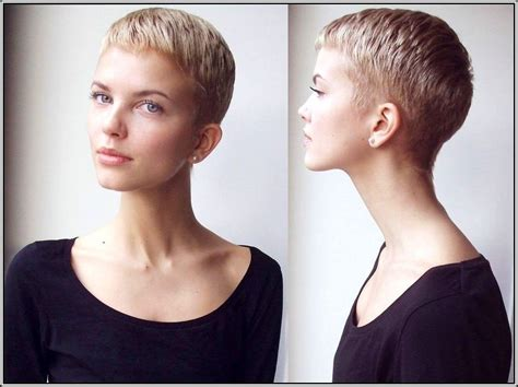 wmens pixie cut with shaved sides shaved back and sides with fringe google search hair
