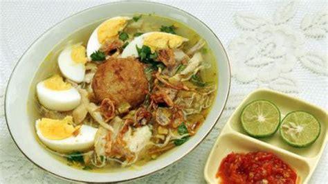 resep soto ayam nusantara  gurihnya bikin nagih