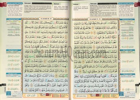 Al Quran Mushaf Hafalan Ar Ribh A6 quran terjemah hafalan al hafidz cordoba daftar update