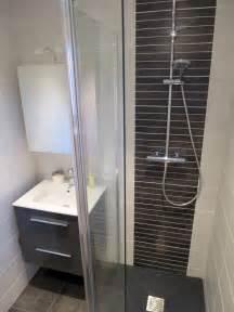 r 233 novation salle de bain grise 224 rennes pac 233 bains et