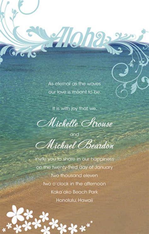 free hawaiian themed wedding invitations pretty i like this for the programs to raffia fans