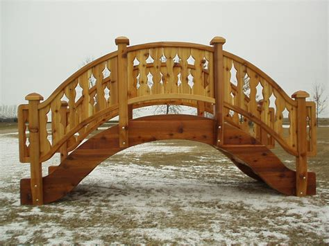 how to build a wooden bridge garden bridges pond bridges wooden bridges