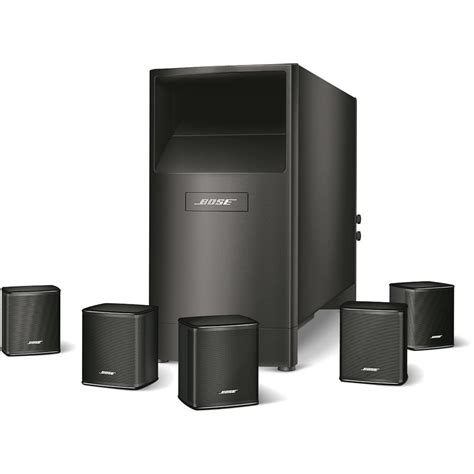 audio solutions bose acoustimass 6 series v home theatre