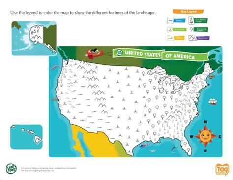 map of usa for kindergarten 92 best images about preschool activities on
