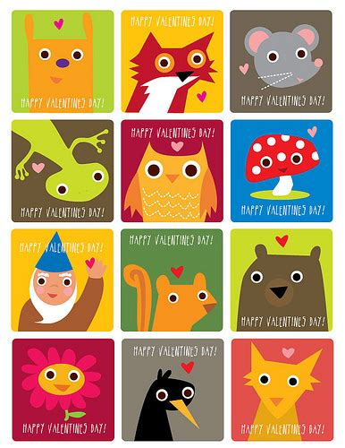 free printable animal valentines day cards free printable valentine s cards a lot of them clumsy