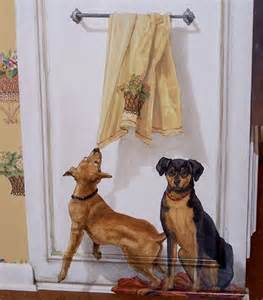 dog wall murals dog wall mural ideas i would love to paint pinterest