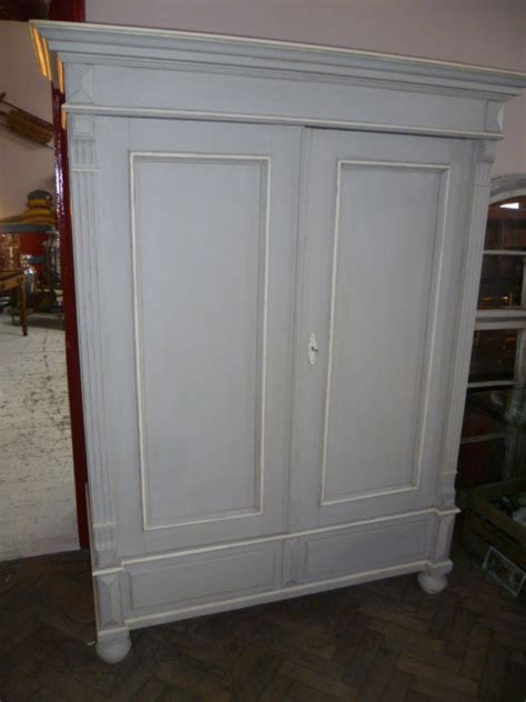 antique painted pine breakdown wardrobe antiques atlas
