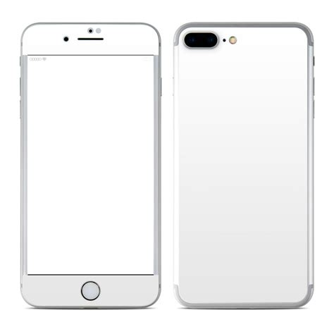 apple iphone 7 plus skin solid state white by solid colors decalgirl