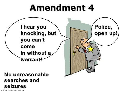 Search Warrant Amendment Amendment 4 Search And Seizure Warrant Www Pixshark Images Galleries With A Bite