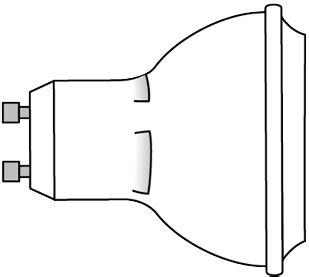 Lu Led Chiyoda Mr16 Spotlight 5watt luminus led spotlight light bulbs
