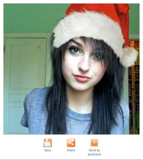 imagenes emo navidad c 243 mo agregar un gorro de navidad a tu foto de perfil web