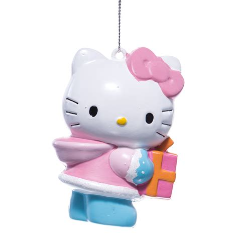 hello kitty blow mold christmas tree ornament
