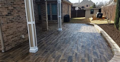 wood look concrete pavers deltaqueenbook