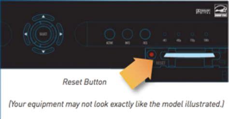 reset directv online reboot directv receivers or dvrs cantara audio video