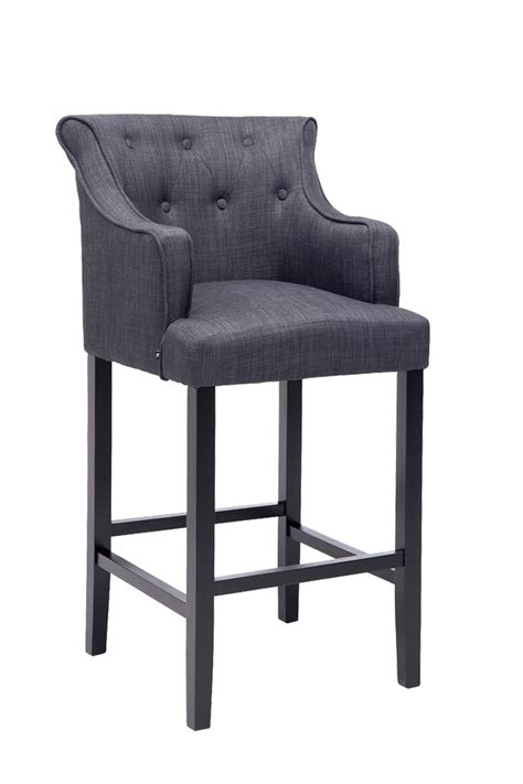 armchair bar stools bar stool lykso tweed fabric breakfast kitchen barstools armchair chair pub new ebay