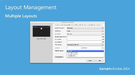 xamarin layoutinflater xamarin evolve 2014 designing android uis for the ever