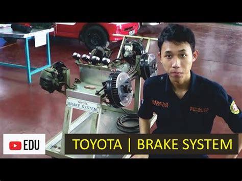 Pipa Rem Mobil sistem rem mobil toyota brake system simulator komponen fungsi dan cara kerja