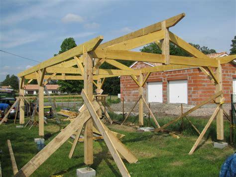 garage construction bois construire garage bois comment construire garage en bois