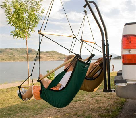 hammaka  trailer hitch dual hammock chair set