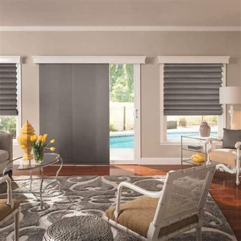 patio door panel blinds 25 best ideas about sliding door treatment on
