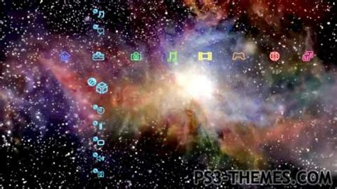 galaxy themes ps3 ps3 themes 187 ultimate galaxy dynamic theme version 2