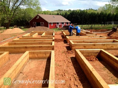 How To Set Up A Raised Garden Bed Episode 406 Setting Up A Garden Growing A Greener World 174