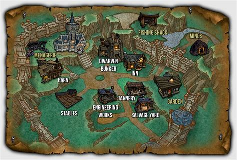 My Garrison Plans What Buildings And Why Eyes Of The Beast Building Upgrade Plans Wow