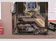 #Computex - MSI X299 Tomahawk & X299 SLI Plus M.2 Pcie X16