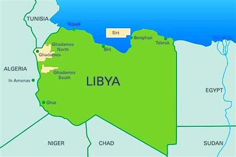 libya map libya the best countries in africa