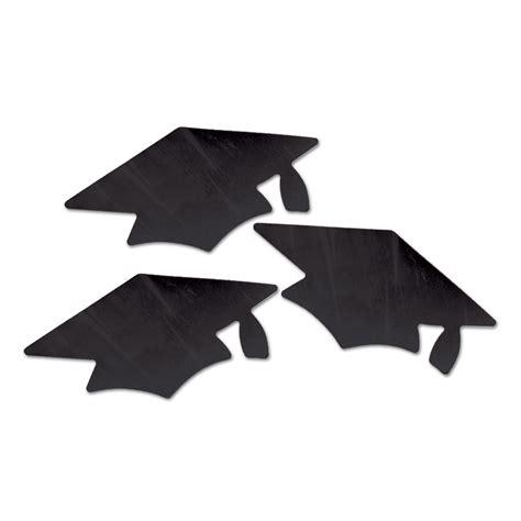 black graduation cap cutout webhats com