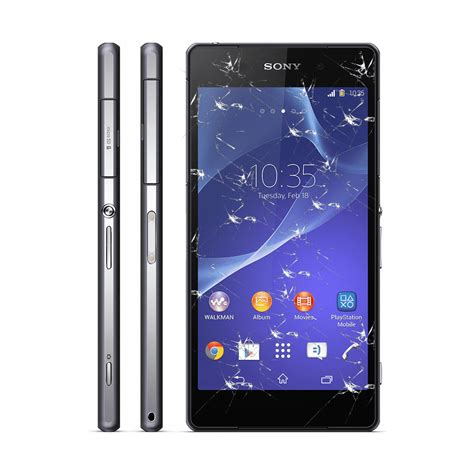 Sony Xperia Z Lte C6603 sony xperia z lte c6603 c6602 wymiana tylnej klapki